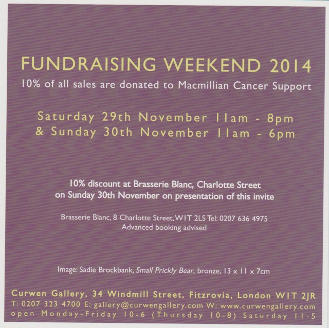 Fundraising Weekend