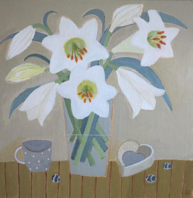 Heart & Lilies
