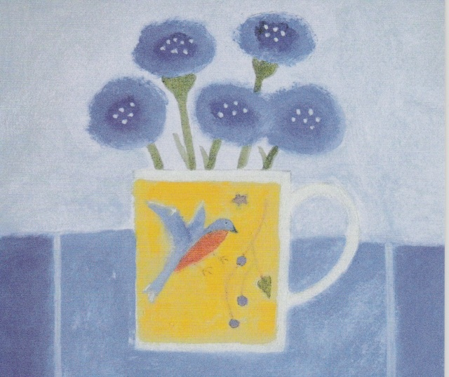 Cornflowers in Craigie Mug